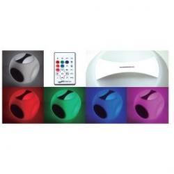 Cubo Luminoso Portátil Led RGB+Music 10W USB Rubik