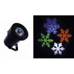 Foco giro Snowflake multicolor  8W 230V IP67