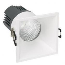 Aro led cuadrado 7,5W blanco 3000K Simon