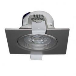 Foco led cuadrado gris 6,5W Nahe SQ luz neutra 840 Prilux