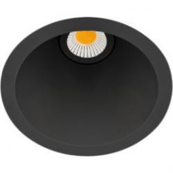 Arkos Light Empotrable Swap M 7W 3000K Negro Reg. Corte Fase