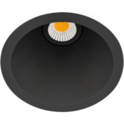 Aro Led Swap M 5w 3000k negro Arkoslight