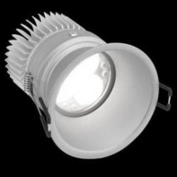 Aro de empotrar LED 15W regulable 706.21 WW Wide Flood aluminio Simon