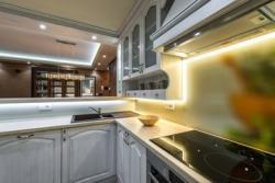Iluminación de mesada de cocina