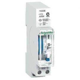 Interruptor horario diario 1 canal autonomía 100 horas Schneider Ref. 15336