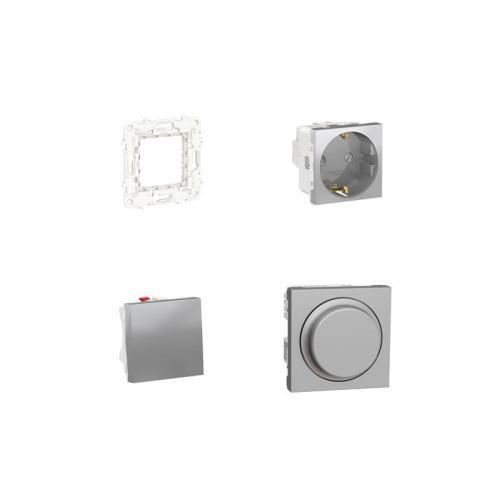 Kit Wiser Iluminación regulable Dormitorio (Aluminio)