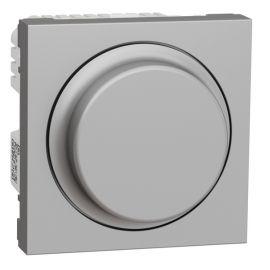 Regulador giratorio LED 200W Wiser aluminio Schneider New Unica NU351630