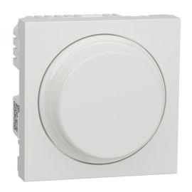 Regulador giratorio LED 200W Wiser blanco polar Schneider New Unica NU351618