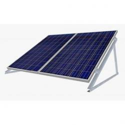 Estructura aluminio 30º soporte 2 módulos fotovoltaico