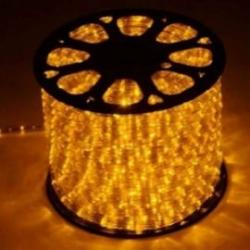 Rollo 45M cable luminoso navideño  Flexilight color naranja