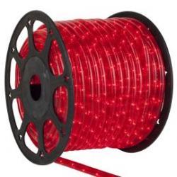 Rollo 45 M LEDS horizontal de navidad color rojo