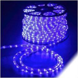 Rollo 45 M LEDS horizontal de navidad color azul