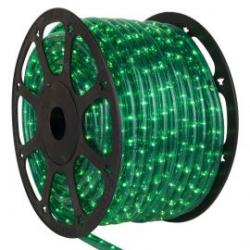 Rollo 45 M LEDS horizontal de navidad color verde
