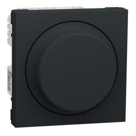 Regulador giratorio LED 200W Antracita Wiser New Unica NU351654