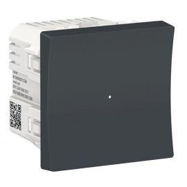 Regulador pulsador LED 200W antracita Wiser New Unica NU351554