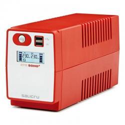 SAI Salicru SPS 650VA SOHO+ doble cargador USB