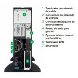 SAI Smart-UPS SR1 sobremesa 700W 230V AC Schneider