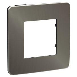 Marco 1 elemento Studio metal carbono/negro NU280253