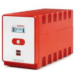 SAI Salicru SPS 1600VA SOHO+ doble cargador USB, en varios voltajes