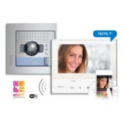 "Kit Videoportero 2 Hilos Tegui Wifi color táctil 7"" CLASSE300X13E"