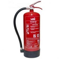 Extintor polvo y de CO2 de 2,5 O 6 kg, varias marcas y modelos