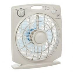 Ventilador S&P Box Fan 35W Meteor ES N temporizado