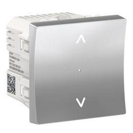Control persiana Wiser aluminio Schneider New Unica