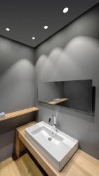 Iluminación de baño con foco Led empotrable Swap de Arkoslight