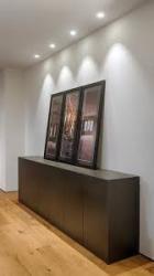 Iluminación salón con  foco Led  empotrable Swap de Arkoslight
