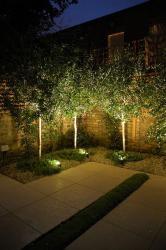 Iluminación con pinchos de jardín Led