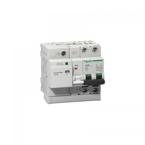 Combi SPU 1P+N 50 A protección combinado sobretensión