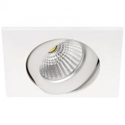 Aro led Dot Square Tilt 7.5W blanco 830 Arkoslight