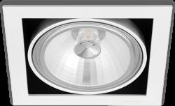 Empotrable Orbital Mini 1 Lark blanco