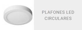 Plafones LED circulares