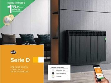 Radiador eléctrico Delta de Rointe con wifi integrado