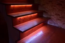 Iluminación de escaleras