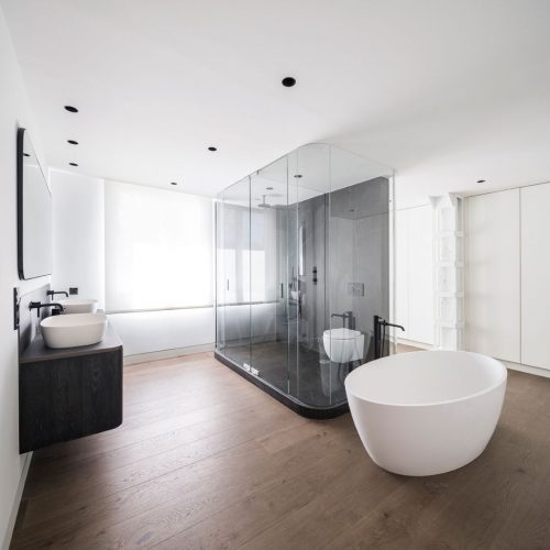 luces swap: como distribuir focos en el techo baño