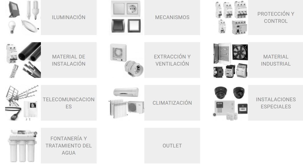 Qmadis: tienda de material eléctrico online