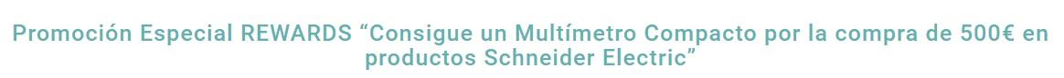 programa REWARD de productos eléctricos Schneider Eelctric