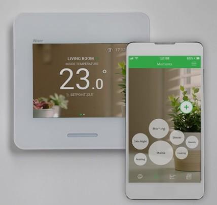 Wiserla solución Smart Home de Schneider Electric